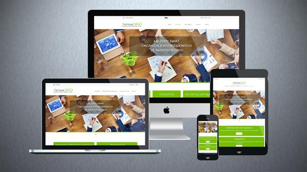 Strona internetowa dla fundacji NGO