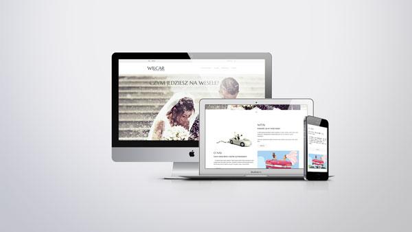 Strona internetowa dla Bum Bum na Ślub