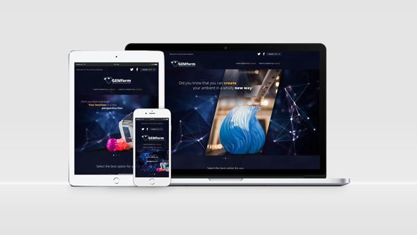 Strona internetowa dla firmy Concept Craft