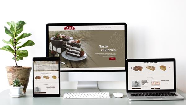 Strona internetowa dla Piekarni Klich