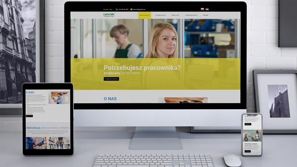 Strona internetowa dla Lukwork