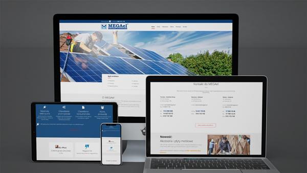 Strona internetowa dla MEGAel