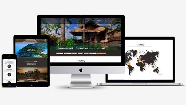 Strona internetowa dla Prestige4Travel