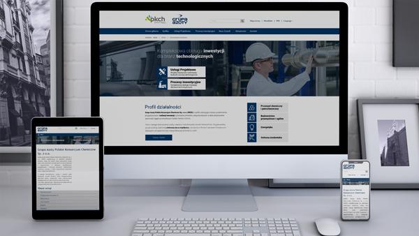 Strona internetowa dla Azoty PKCH
