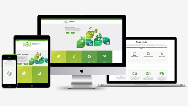 Strona internetowa dla Recycling Solutions