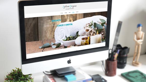Strona internetowa dla Gabinet odnowy S. Grzywa