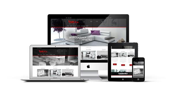 Strona internetowa dla firmy Saturn Tarnów