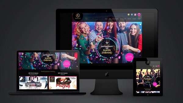 Strona internetowa dla firmy Space Club