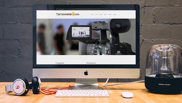 Strona internetowa dla firmy Tarnowskie Media